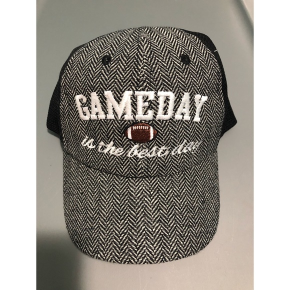 """a6bf92156ef8f Katydid Accessories - """"Gameday is the Best Day"""" Truckers Hat"""